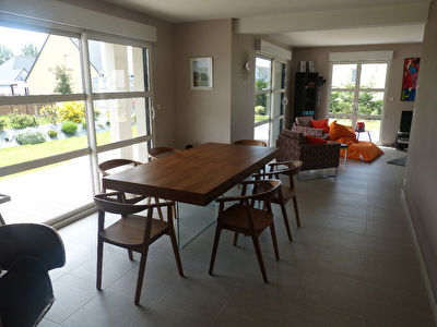 TEXT_PHOTO 4 - ACHAT/VENTE Maison contemporaine Agon-coutainville 150 m2 proche plages 50230