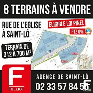 Photo n° 0 - Terrain Saint-lo 775 m2