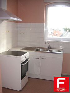 Photo n° 1 - A louer appartement type F3 - centre ville Carentan (50500)