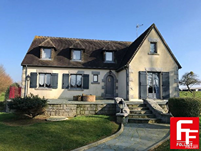 Photo n° 0 - Maison Equilly 50320  8 pièce(s) 158 m2   A Vendre Achat