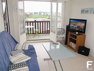 Photo n° 1 - ACHAT / VENTE APPARTEMENT BORD DE MER , BALCON SUD